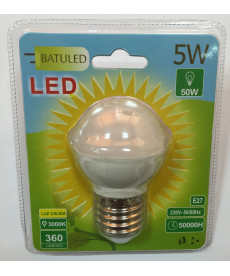 LED BULB G45 E27 5W LIGHT WARM