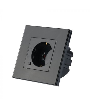 Enchufe de pared WIFI color negro