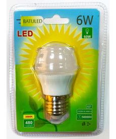 LED BULB G45 E27 5W COLD LIGHT