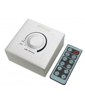 REGULATOR LED TRIAC DIMMER 150W WITH IR REMOTE CONTROL