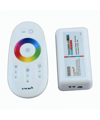 Touch controller RGB LED 12/24V, Dimmer by RF Remote Control