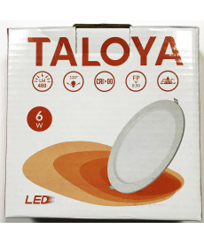 DOWNLIGHT 6W FRIA