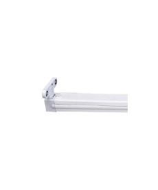 REGLETA IP20 PARA 2 TUBOS LED DE 600 mm